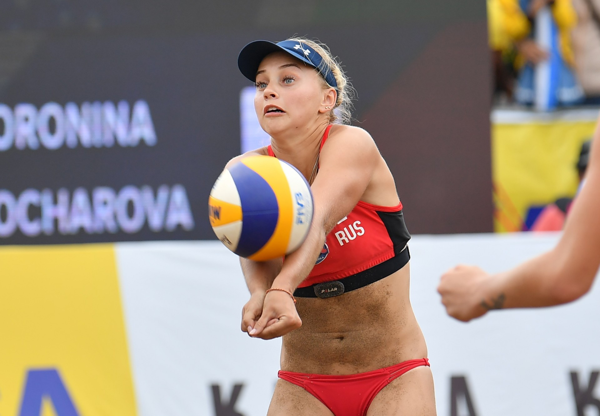 Maria Voronina won last year's Russian Cup with Mariia Bocharova, but is paired with Svetlana Kholomina in 2020