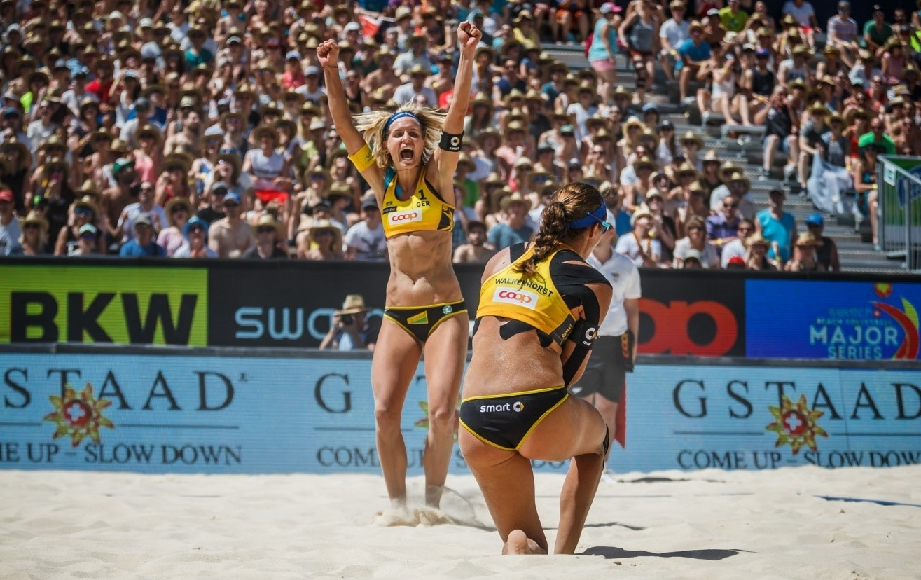 Olympic-bound German duo Ludwig/Walkenhorst are entered into the #KlagenfurtMajor. Photocredit: Martin Steinthaler.