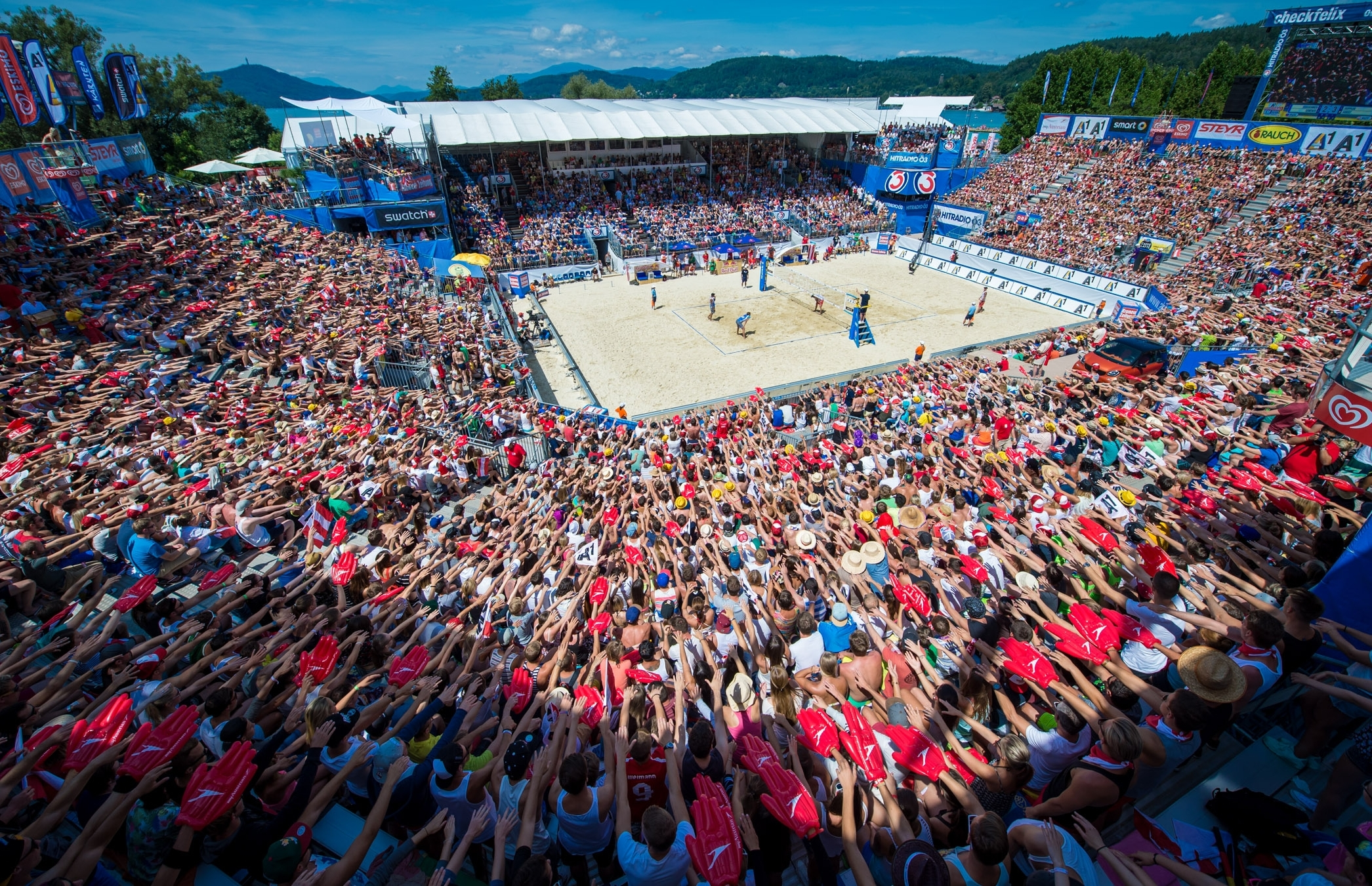 Klagenfurt: a tournament like no other! Photocredit: Bernhard Horst.