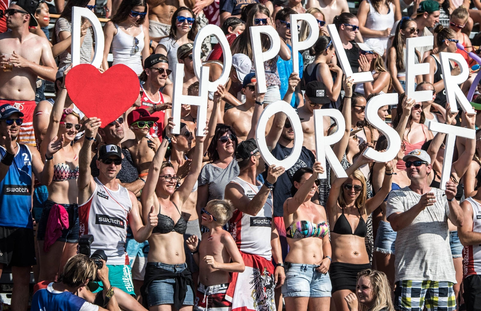 Doppler/Horst will have the loyal backing of the Austria fans in Klagenfurt this week. Photocredit: Predrag Vuckovic.
