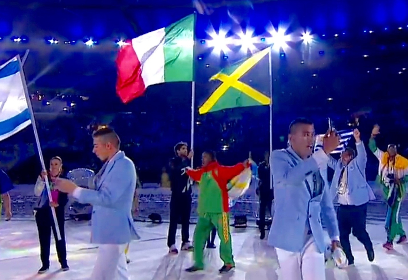 Proud to be a flag bearer for the first time: Daniele Lupo