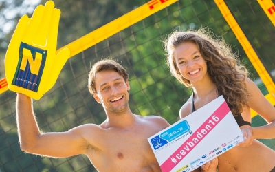 Baden kicks off beach volleyball summer in Austria