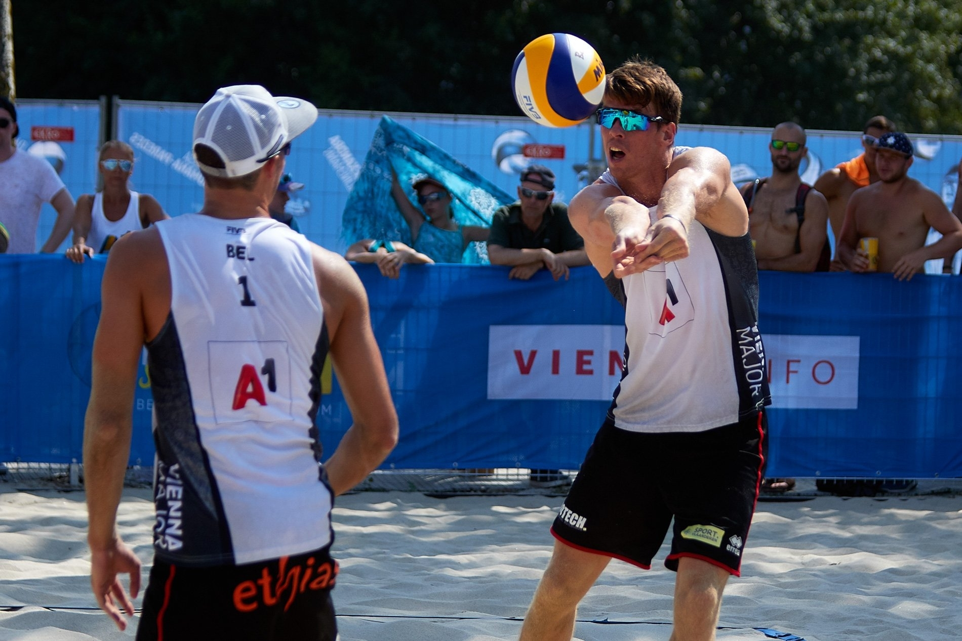 After a fifth place in Gstaad, can the Belgians make the semifinals in Vienna?