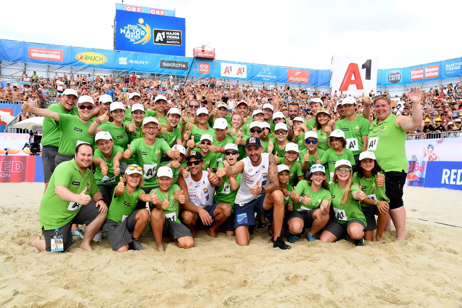 Ein tausendmal Dank! Fotocredit: Beach Major Series