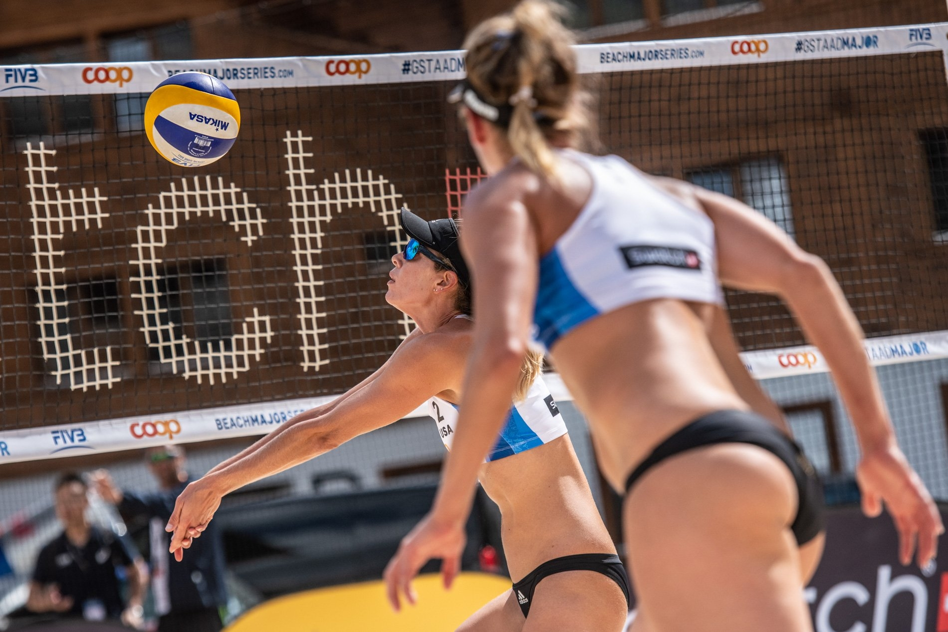 The Americans are looking forward to a  good result in a Beach Major Series event