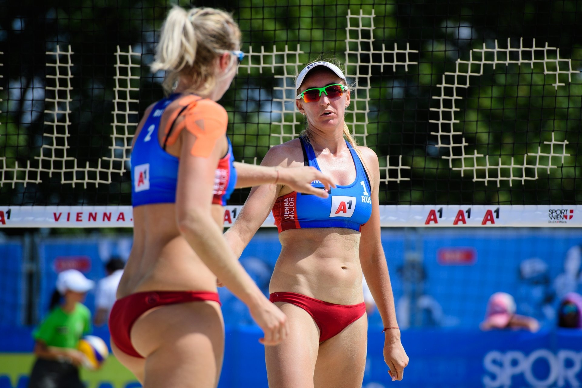 Russians Birlova and Ukolova advanced to the main draw in Vienna (Photocredit: FIVB)