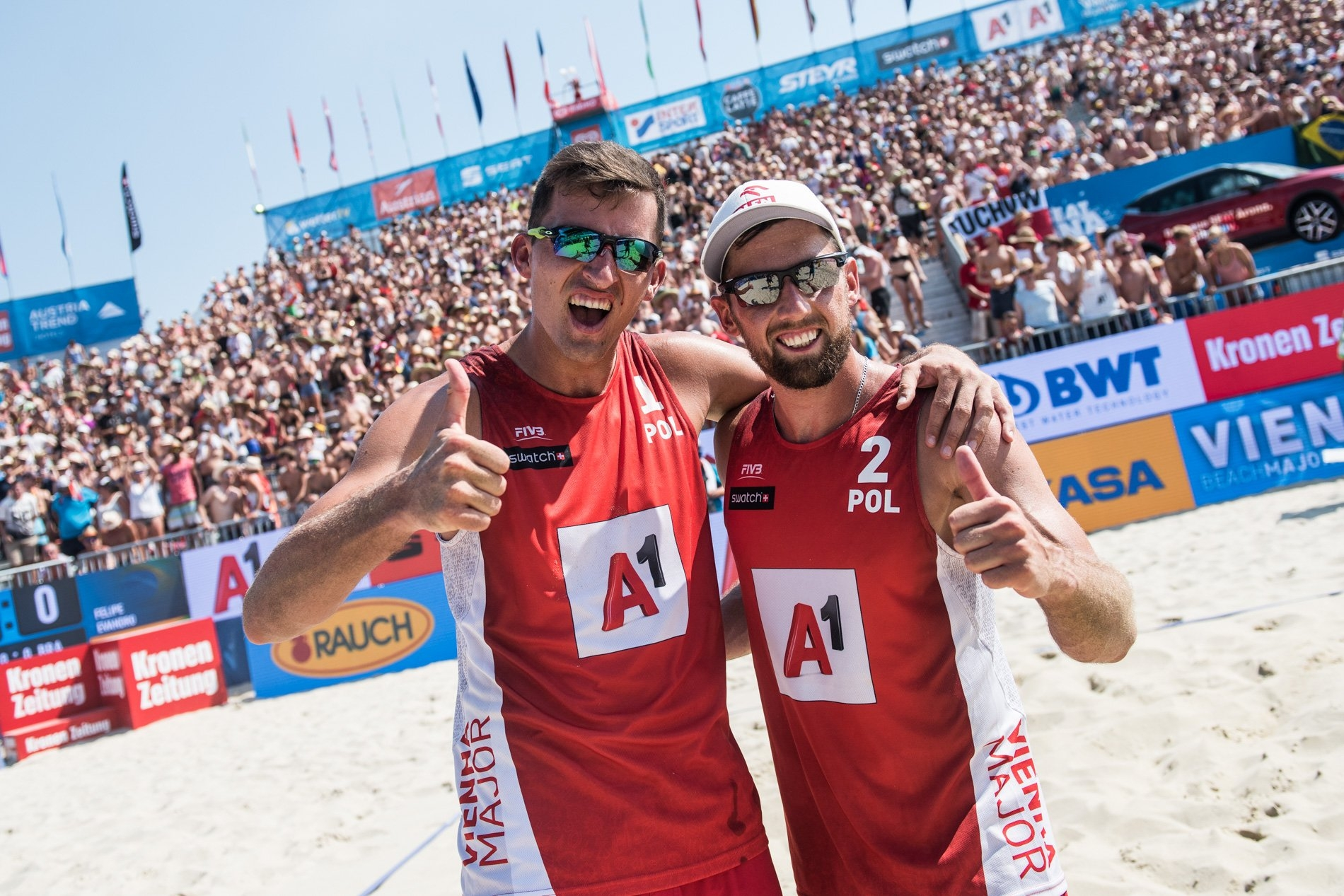 Bryl and Fijalek will play in their first gold medal match together