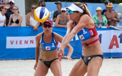 USA and Brazil dominate Vienna's quarterfinals